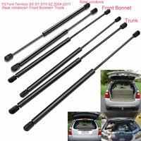 For Ford Territory SX/Y/YII /Z 04-11 Front Bonnet+Rear Window+Trunk Gas Struts