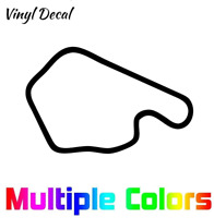 Lime Rock Park Decal | Race Track Decals Outline Sticker Helmet Car