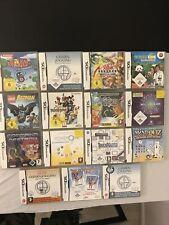 Nintendo DS Sammlung 15 Spiele