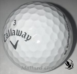 24 Callaway Supersoft AAAAA Mint Golf Balls