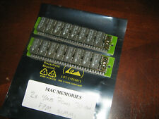 2x 4MB 30-Pin 70ns Non-Parity FPM SIMMs Macintosh COLOR CLASSIC Memory Apple RAM