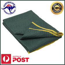1x Furniture Moving Blanket Removalist Pads Quilted Padded Burlap Pad