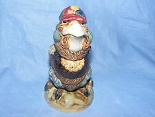 Burslem Pottery Grotesque Bird Schoolboy Tobacco Jar Wally Bird