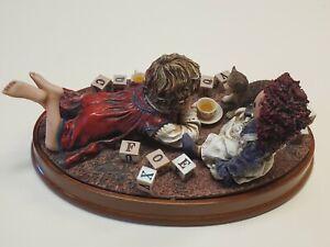 "Jim Daly "" Favorite Gift "" Figurine # 1 / 144 Box + Cert MINT $200 Value 1999"