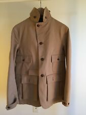 Kaptain Sunshine Hunting Jacket Wool Lined Safari Jacket Multiple Pockets