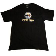 NFL Team Apparel T-Shirt Men's XL Pittsburgh Steelers Football Team Used WW01
