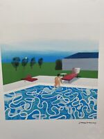 David Hockney- Print Signée et numérotée