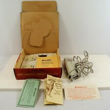 Wahl Clip-Pet Trimmers Clippers Dog Cat Pet Grooming Light Quiet VTG w/ Box