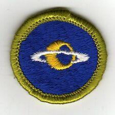 Astronomy Merit Badge, Type G, Cloth Back  (1961-71), Mint!