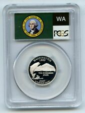 2007 S 25C Silver Washington Quarter PCGS PR70DCAM