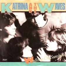 """Katharina and the Waves - Walking On Sunshine > 7"""" Vinyl Single"""