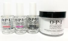 OPI 003 Clear Dipping Powder1.5 oz + System Liquid Essentials 0.5oz 3 Step Set