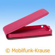 Flexi Case Etui Handytasche Tasche Hülle f. Samsung GT-S5610 / S5610 (Pink)