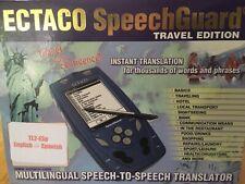 Ectaco SpeechGuard Travel Edition TL2-Esp English Spanish Translator