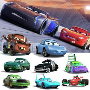 Pixar Cars Lot 1:55 Diecast Racer No.95 Lightning Mcqueen Chick Kids Toys Bundle