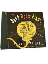 "New listing 1949 BACK ROOM PIANO ""Frank Froeba. DECCA Album 448"