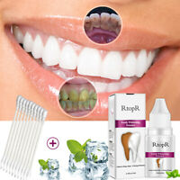 Teeth Whitening Essence Restore White Cleaning Serum Tools with Cotton Swabs