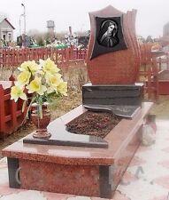 Granite Full Traditional Memorial Headstone
