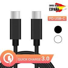 Cable tipo C PD para carga y datos de móvil Android y iPhone carga rápida