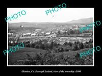 OLD LARGE HISTORIC PHOTO OF GLENTIES DONEGAL IRELAND, VIEW OF THE TOWNSHIP c1900
