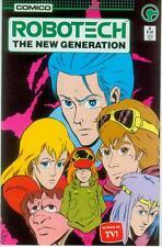 Robotech: the New Generation # 4 (estados unidos, 1985)