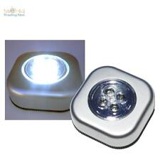 10 Pezzi Touch Luce Lampada Con LED Funzionamento a Batteria Senza Cavo Armadio