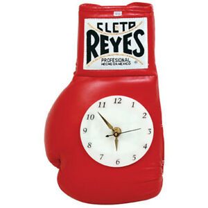 Cleto Reyes 8 oz Authentic Pro Fight Glove Clock - Red
