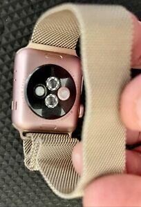 Apple Watch Series 2 - 38mm/42mm - Aluminum Case - iOS - Smartwatch Pink