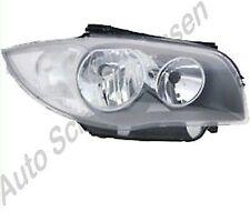 BMW 1 E81 E87 E88 E82 ab 2007 bis 2011 Scheinwerfer rechts H7 +H7 Lampe Leuchte
