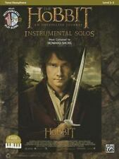 The Hobbit -- An Unexpected Journey Instrumental Solos: Tenor Sax (Book & CD
