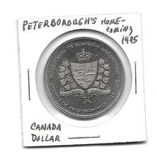 1975 UNC 1 Dollar Canada Peterborough's Homecoming