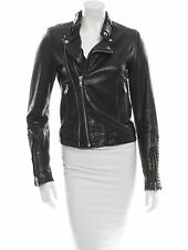 IRO Leather Biker Quilted Jacket size 1/ 36/ XS-S