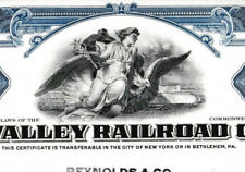 Lehigh Valley Railroad Company shs Eisenbahn Aktie 1951 USA Engel