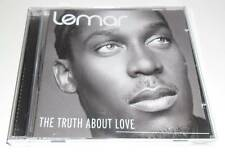 LEMAR - THE TRUTH ABOUT LOVE - 2006 UK 14 TRACK CD ALBUM