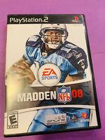 Madden NFL 08 (Sony PlayStation 2, 2007)
