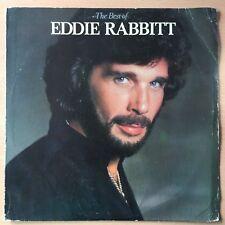EDDIE RABBITT The Best Of US Press LP