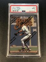 DEREK JETER 1997 TOPPS FINEST #15 BLUE CHIPS CARD W/ COATING PSA 9 NY YANKEES