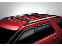 2011-2015 Ford Explorer Black Roof Rack Cross Bars Set Of 2 OEM NEW Genuine