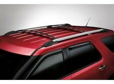 Ford explorer racks ebay 2011 2015 ford explorer black roof rack cross bars set of 2 oem new genuine sciox Image collections