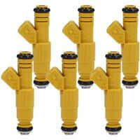 Set of 6 Fuel Injectors for Jeep Cherokee Wrangler Comanche 4.0L TJ XJ YJ ZJ US