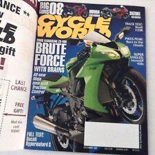 Cycle World Magazine Kawasaki ZX-10R Ducati December 2007 061417nonrh