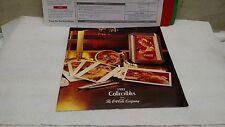 1992 Coca Cola Collectibles Dealer sales Catalog brochure W/order sheet Rare