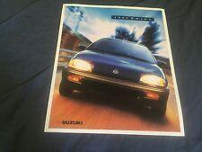 1995 Suzuki Swift USA Market Color Brochure Catalog Prospekt