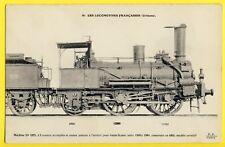 cpa France LOCOMOTIVE de 1855 Chemins de Fer de PARIS à ORLÉANS French Engine