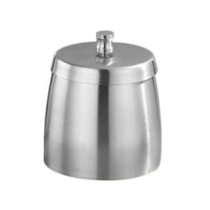 Outdoor Ashtray with Lid for Cigarettes Stainless Steel Windproof Rainproof I2H4