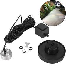 3 head Ultrasonic Mist Maker Fogger Humidifier W/Transformer Humidification