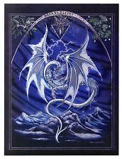 """Dufex Foil Picture Print - White Dragon - size 6"""" x 8"""""""