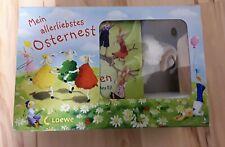 Loewe * Mein allerliebstes Osternest: 2 Bilderbücher + kleines Lamm * 2y * NEU