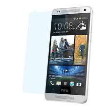9x Matte Protective Foil HTC One M7 Anti Reflex Anti-Glare Display