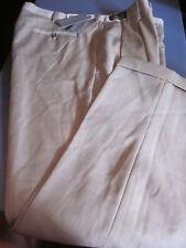 Nwt Dockers Super 100'S Worsted Wool Pleated Dress Pants Lt Brown Herring 38X32